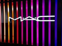 MAC logo on MAC`s shop
