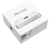 Mac Mini Computer. Apple Mac Mini Desktop Computer box - model October 2014 stock photography