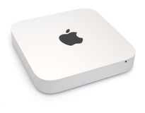 Mac Mini Computer. Photo of new Apple Mac Mini Desktop Computer - model October 2014 royalty free stock images