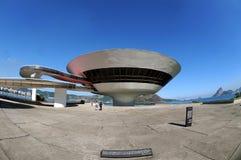 MAC - Museum van Eigentijdse Kunst van Niterà ³ i stock fotografie