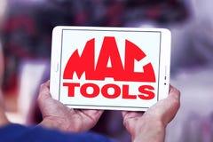 MAC narzędzi firmy logo Obrazy Stock