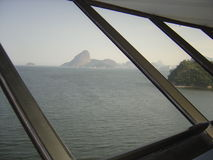 Mac Niteroi Rio de Janeiro Royaltyfria Bilder