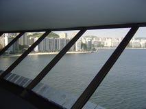 Mac Niteroi Rio de Janeiro Royaltyfri Foto