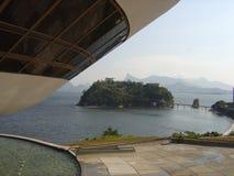 Mac Niteroi Rio de Janeiro Arkivbild