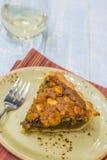 Mac Nut Rum Pie Stock Image