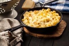 Mac och ost arkivfoton