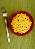 Mac och ost arkivfoto
