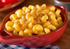 Mac och ost arkivbild