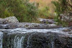 Mac Mac Pools dans le canyon de rivi?re de Blyde, itin?raire de panorama pr?s de Graskop, Mpumalanga, Afrique du Sud photo libre de droits