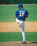 Mac Suzuki, Kansas City Royals. Royalty Free Stock Image