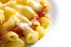 Mac y queso 2 Foto de archivo libre de regalías
