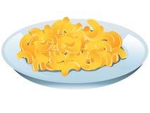 Mac y queso Fotos de archivo