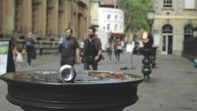 Maca na cidade vídeos de arquivo