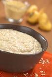 Maca-Oatmeal Porridge royalty free stock images