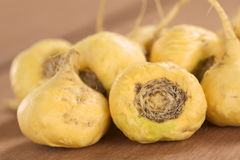 Maca or Peruvian Ginseng Roots Stock Photos