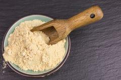 Maca powder stock photography