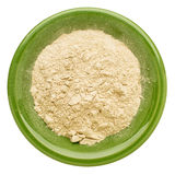 Maca root powder Royalty Free Stock Photography