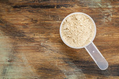 Maca root  powder Stock Images