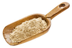 Maca root powder supplement Stock Photo