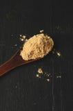 Maca root powder Royalty Free Stock Image