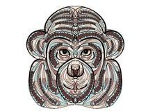 Macaco étnico Imagem de Stock Royalty Free