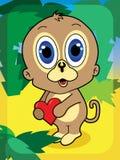 Macaco bonito Fotos de Stock
