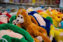 Macaco da boneca Fotografia de Stock