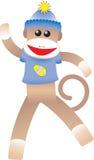 Macaco da peúga de Easter Ilustração Stock