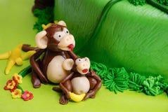 Macaco do maçapão Fotos de Stock Royalty Free