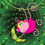 Macaco dos desenhos animados Imagem de Stock Royalty Free