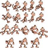 Macaco dos desenhos animados Fotografia de Stock