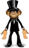 Macaco em um chapéu alto Fotos de Stock