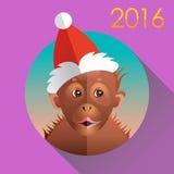 Macaco engraçado bonito ilustração stock