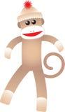 Macaco feliz da peúga Fotografia de Stock Royalty Free