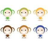 Macaco pequeno Imagens de Stock