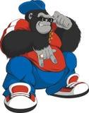 Macaco-quadro Imagem de Stock Royalty Free