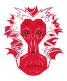 Macacos chineses do ano novo Imagem de Stock