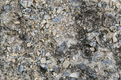Macadam. Close up texture with stones Royalty Free Stock Photo