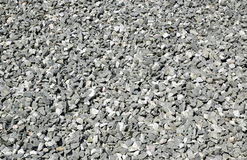 Macadam. Picture of a macadam hilloc from the North of Sweden Royalty Free Stock Images