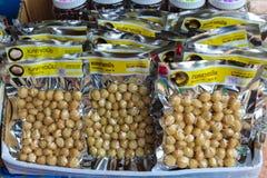 macadamia Στοκ εικόνες με δικαίωμα ελεύθερης χρήσης