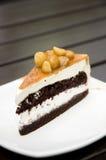 Macadamia cake Stock Image