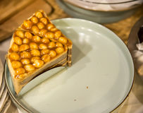 Macadamia cake Stock Photography