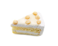 Macadamia Cake Royalty Free Stock Photo