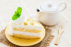 Macadamia cake. Royalty Free Stock Images