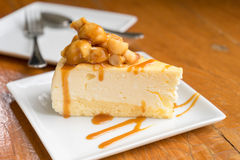 Macadamia cheese cake Stock Image