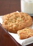 Macadamia nut cookies Royalty Free Stock Photos