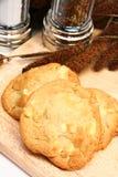 Macadamia Nut and White Chocolate Cookies royalty free stock photos