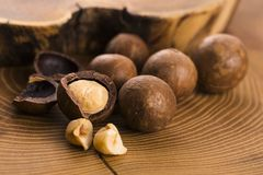 Free Macadamia Nuts Stock Images - 84149854
