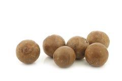 Macadamia nuts (Macadamia tetraphylla) Royalty Free Stock Image