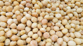 Macadamia nuts for sale at the city market Stock Images